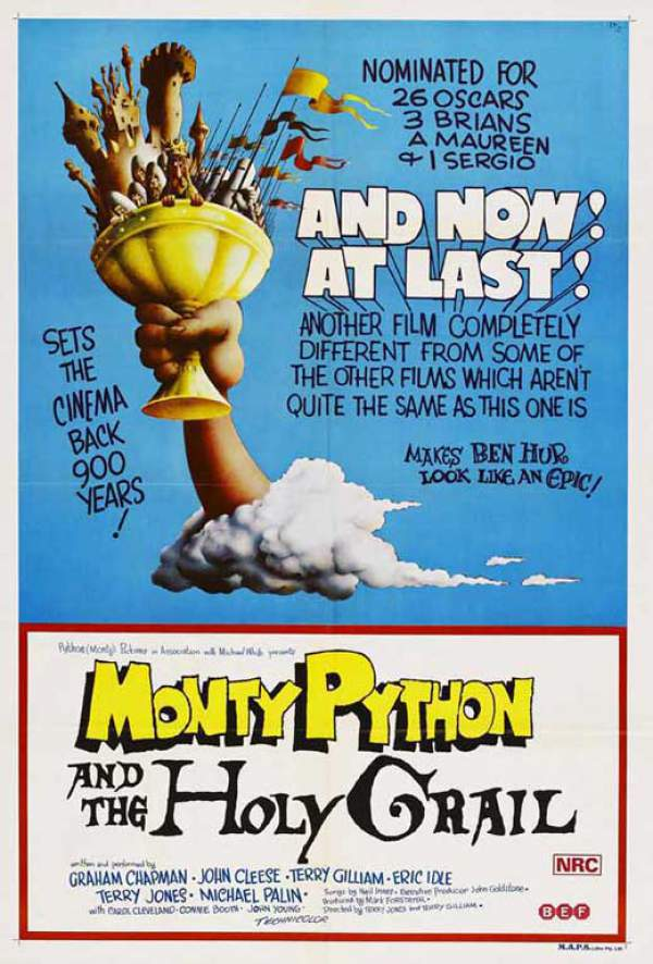 Monty Python and the Holy Grail (1975) - Terry Gilliam, Terry Jones