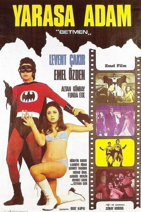 """Yarasa Adam """"Betmen"""" (1973) - Günay Kosova"""