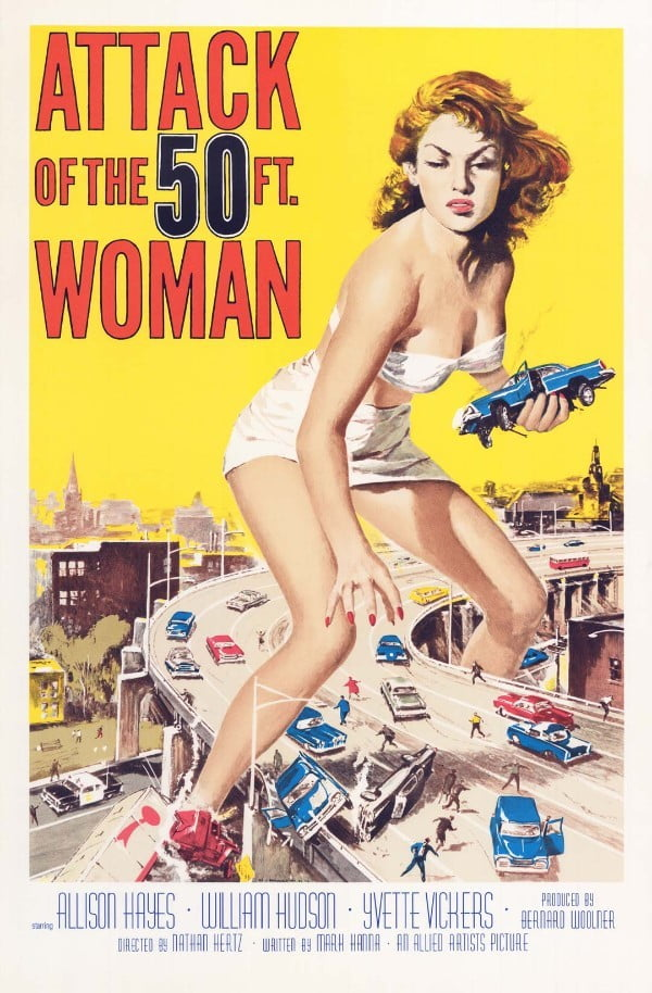 Attack of the 50 Foot Woman (1958) - Nathan Juran