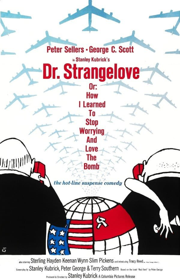 Dr. Strangelove or: How I Learned to Stop Worrying and Love the Bomb (1964) - Stanley Kubrick
