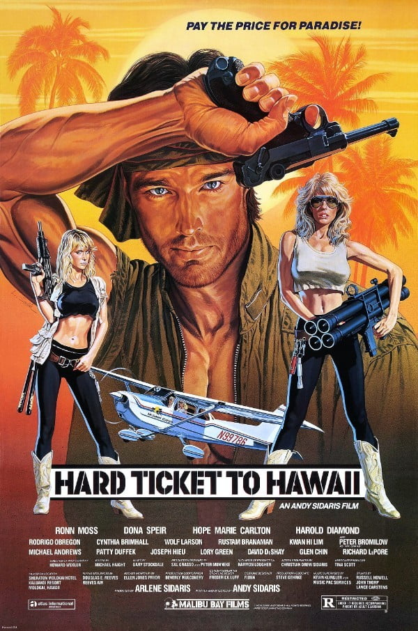 Hard Ticket to Hawaii (1987) - Andy Sidaris