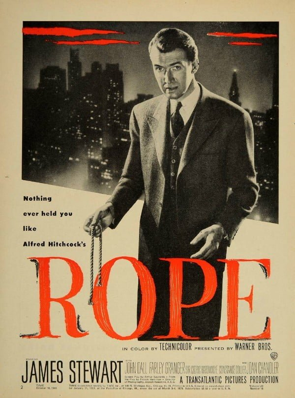 Rope (1948) - Alfred Hitchcock