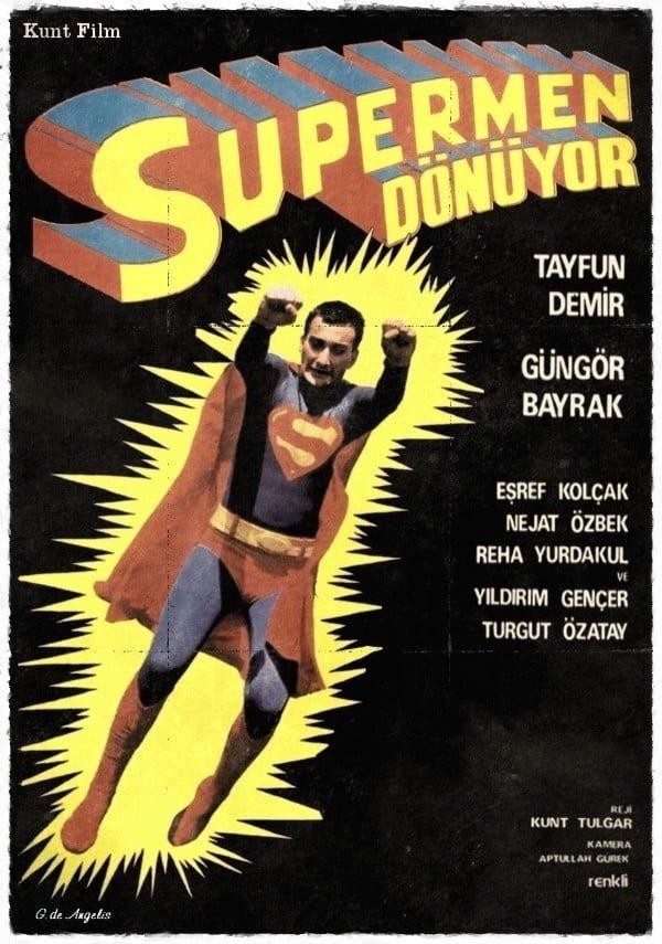 Süpermen Dönüyor (1979) - Kunt Tulgar