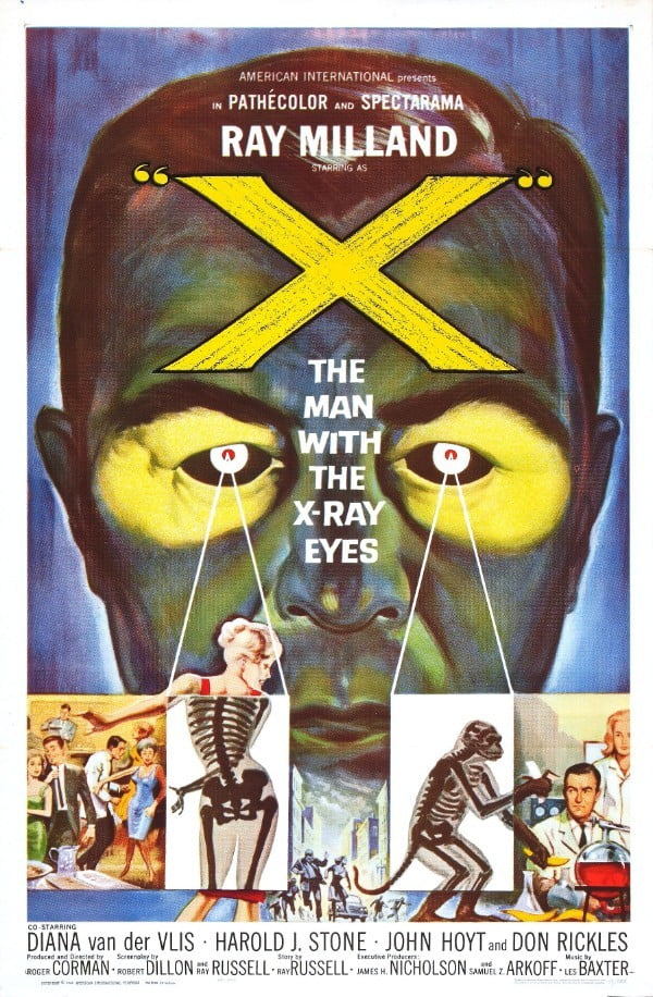 X: The Man with the X-Ray Eyes (1963) - Roger Corman