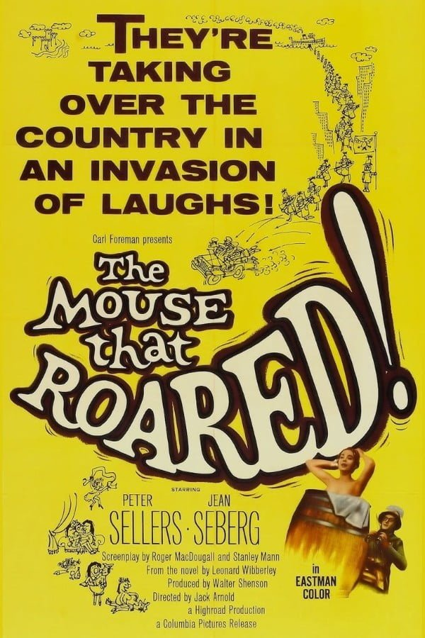 The Mouse That Roared (1959) - Jack Arnold