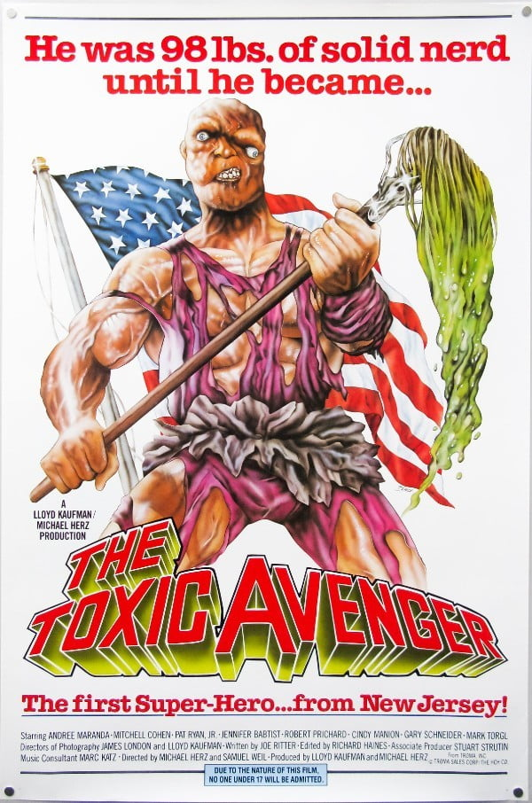 The Toxic Avenger (1984) – Michael Herz, Lloyd Kaufman