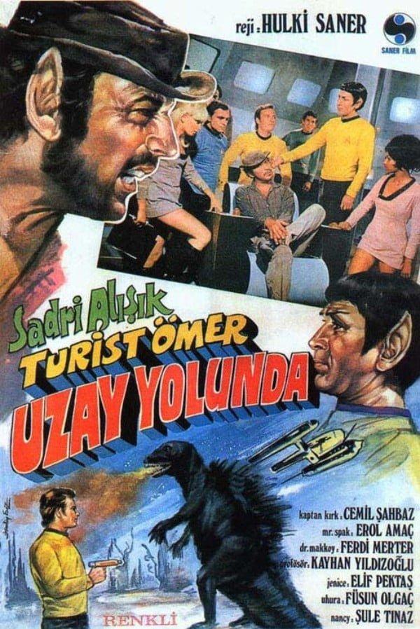 Turist Ömer Uzay Yolunda (1973) - Hulki Saner