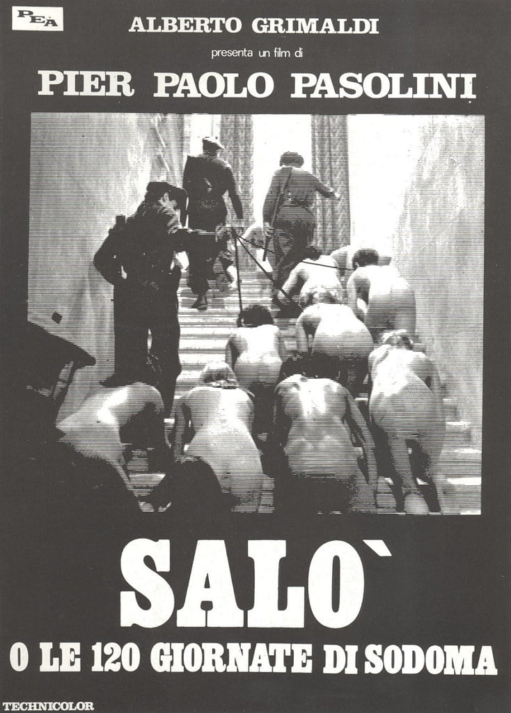 Salò, or the 120 Days of Sodom (1975) - Pier Paolo Pasolini