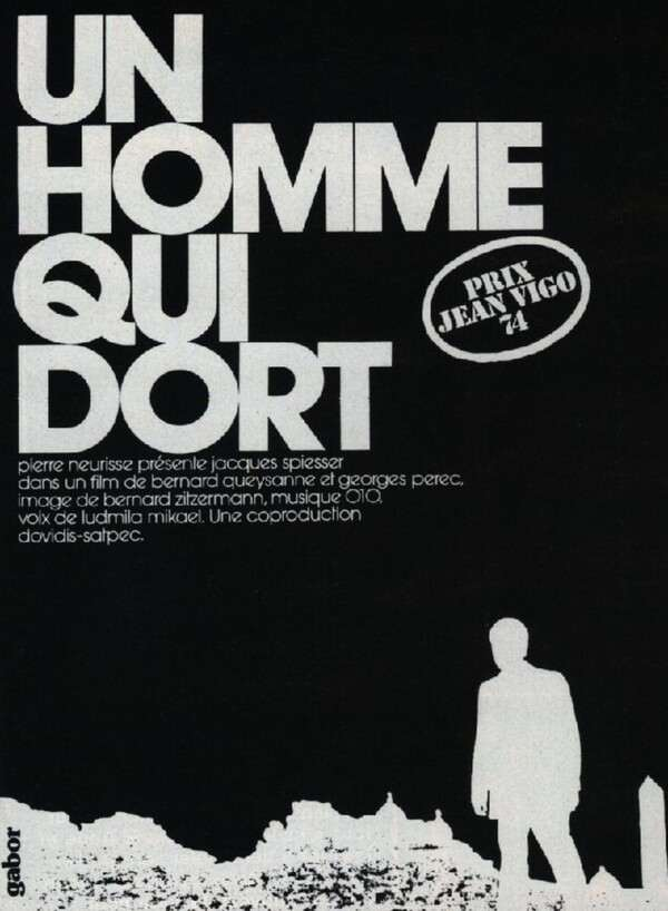 The Man Who Sleeps (Un homme qui dort) (1974) - Bernard Queysanne